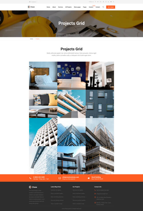chade projects grid